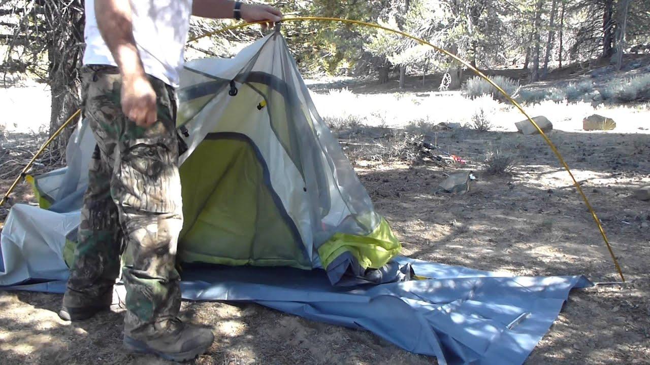 Backpack Hunting Trip #34 Tent Setup & Backpack Hunting Trip #34 Tent Setup - YouTube