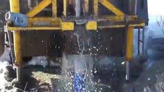 Бурение скважин на воду в Свердловской области(пос. Курманка, скважина 23м., 2016-02-15T02:17:58.000Z)