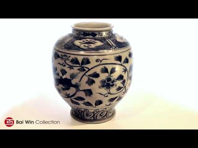 Ming Dynasty Ovoid Jar