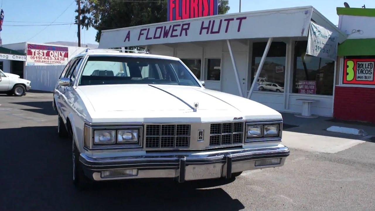 1986 Olds Custom Cruiser Wagon Stationwagon MINT For Sale ...