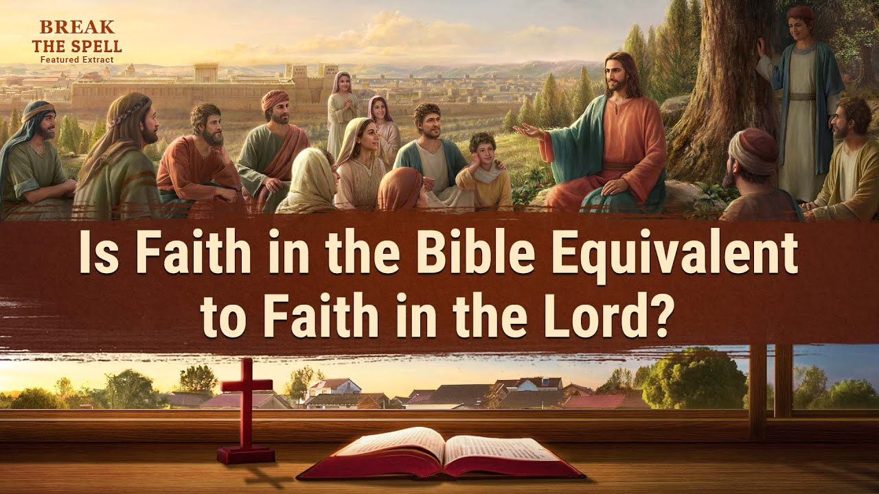 """Gospel Movie Extract 4 From """"Break the Spell"""": Is Faith in Bible Equivalent to Faith in the Lord?"""