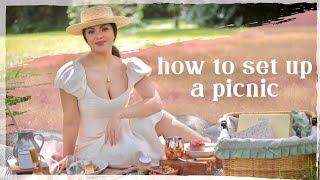 HOW TO SET UP A PICNIC! | Casa Kristina