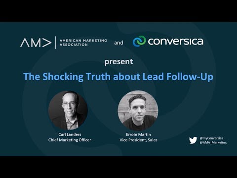 AMA Webinar - The Shocking Truth About Lead Follow-Up