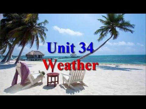 Learn English Via Listening Level 2 Unit 34 Weather