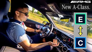 2019 MERCEDES A-CLASS A180d Fuel Challenge ECO vs COMFORT!