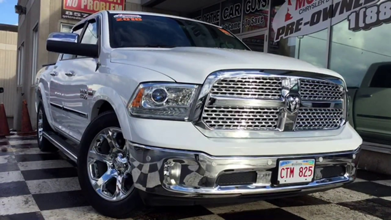 2016 Ram 1500 Laramie Air Ride Full Heated Seats Truck Crew Cab