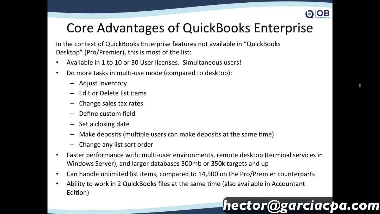 Why Upgrade to QuickBooks Enterprise 2016?