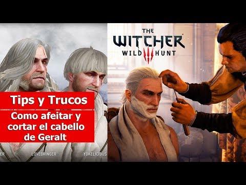 """The Witcher III: Wild Hunt   Tips y Trucos   """"Como Afeitar y Cortar el cabello de Geralt"""""""