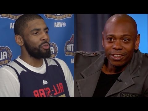 Watch Kyrie Irving and Draymond Green's Flat Earth Theory GET DESTROYED by Dave Chappelle!