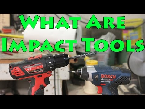 Drill Vs Impact Driver Vs Impact Wrench Vs Hammerdrill