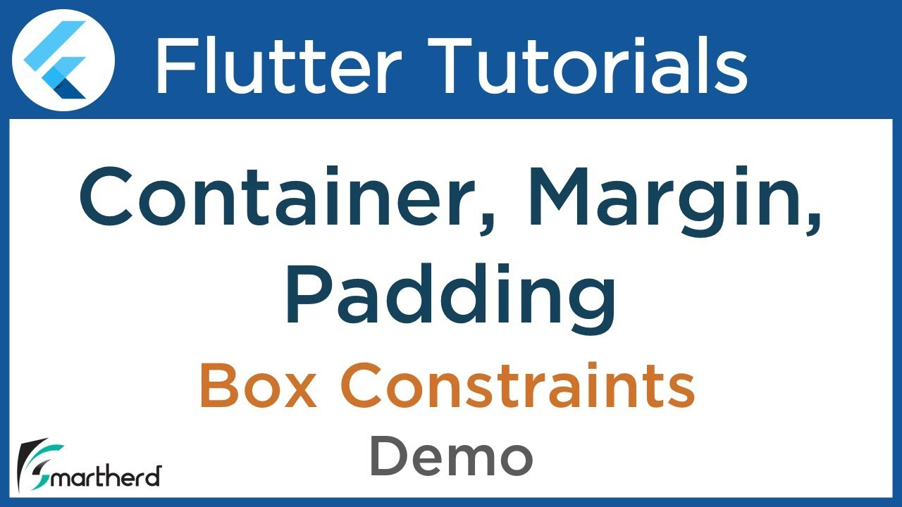 2 2 Flutter Container Widget | Margin and Padding & Box