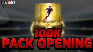 FIFA 14 | 100k Pack Opening Ft. 89 Rated Player