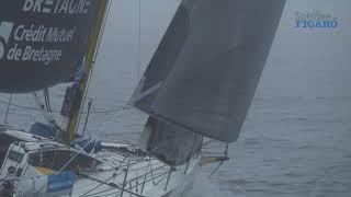 Slow mo sur les bateaux Bretagne-CMB - La Solitaire du Figaro