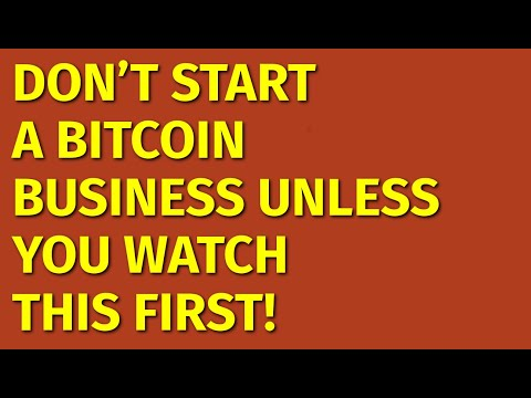 How To Start A Bitcoin Business | Including Free Bitcoin Business Plan Template