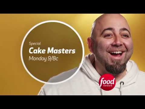 Food Network Cake Decorating Shows : Cake Masters (Food Network) Special Promo - YouTube