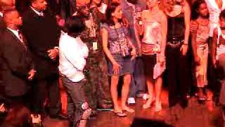 MJ-Upbeat.com - (PT 3) - Michael Jackson 45th Birthday Party - Fans Singing We Are The World