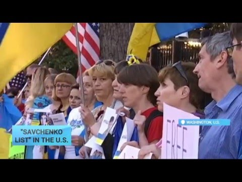 Savchenko Sanctions List in U.S.: Prominent politicians support the initiative