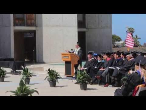 NewSchool of Architecture and Design Commencement speech 2014, Michael Angelo Venturella