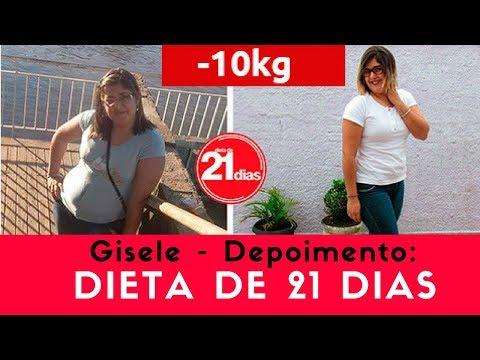 GISELE - DEPOIMENTOS DIETA DE 21 DIAS - PERCA DE 5 A 10 KG EM APENAS 21 DIAS
