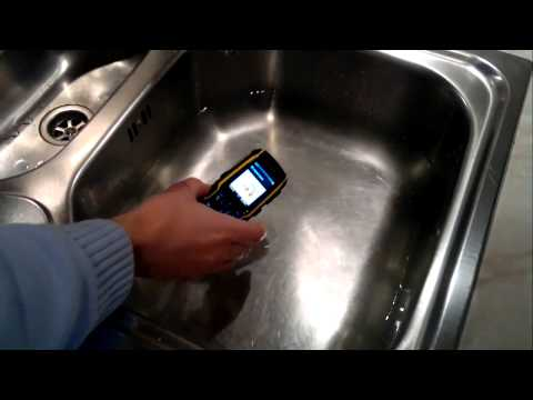 Sonim XP1300 Core liquid test