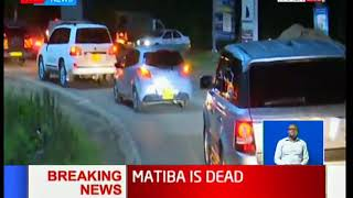 Video Kenneth Matiba's body being moved from Karen to Lee funeral home download MP3, 3GP, MP4, WEBM, AVI, FLV Oktober 2018
