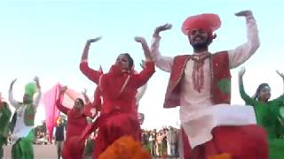 ANCHOR PROF.RANDHAWA-SONG BASED BHANGRA BY GIRLS AND BOYS OF D A V COLLEGE AMRITSAR