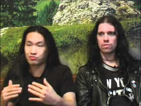 Dragonforce interview - Herman Li and Sam Totman (part 1)
