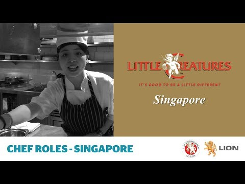 Little Creatures Singapore brewery - chef roles