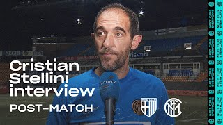 "PARMA 1-2 INTER | CRISTIAN STELLINI EXCLUSIVE INTERVIEW: ""We showed an important response"" [SUB ENG]"