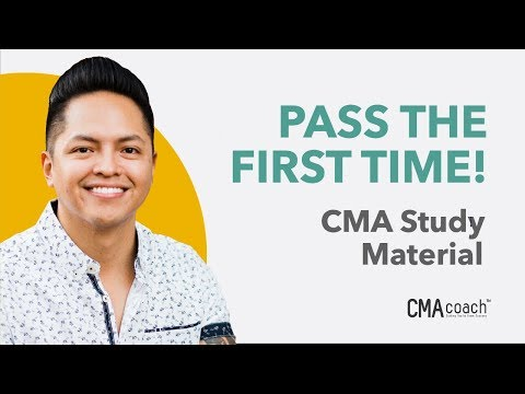 Certified Management Accountant (CMA) Study Material (PASS THE FIRST TIME!)