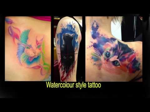Amazing CAT Tattoos