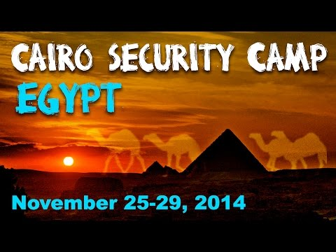 Cairo Security Camp 2014