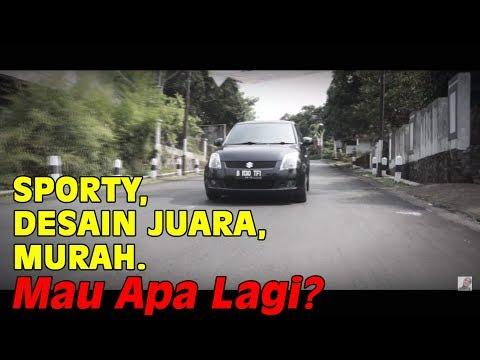 Harga Beli Murah, Sporty Habis, Lincah, Anak Muda Banget. Review Suzuki Swift AT 08