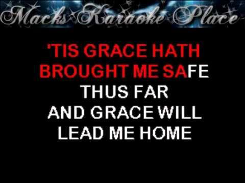Amazing Grace   Traditional   Karaoke