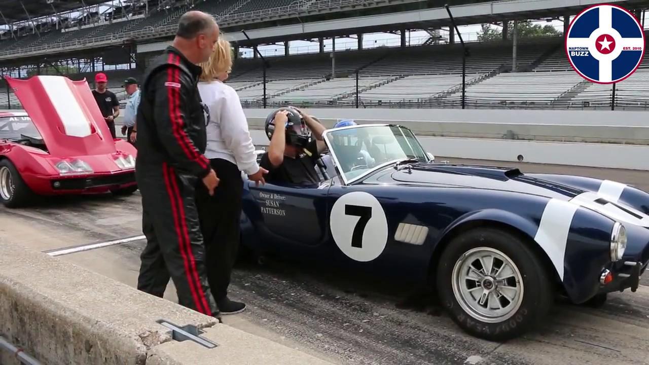 2017 SVRA Indy Brickyard Vintage Racing Invitational Ride Along ...