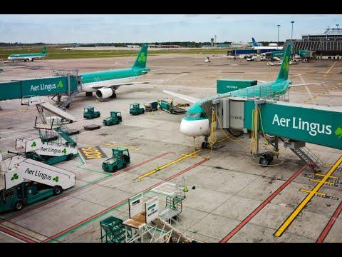 Walking In Dublin Airport, Ireland