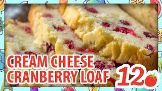 Cream Cheese Cranberry Loaf Recipe