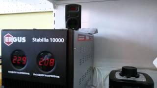 видео Релейный стабилизатор напряжения
