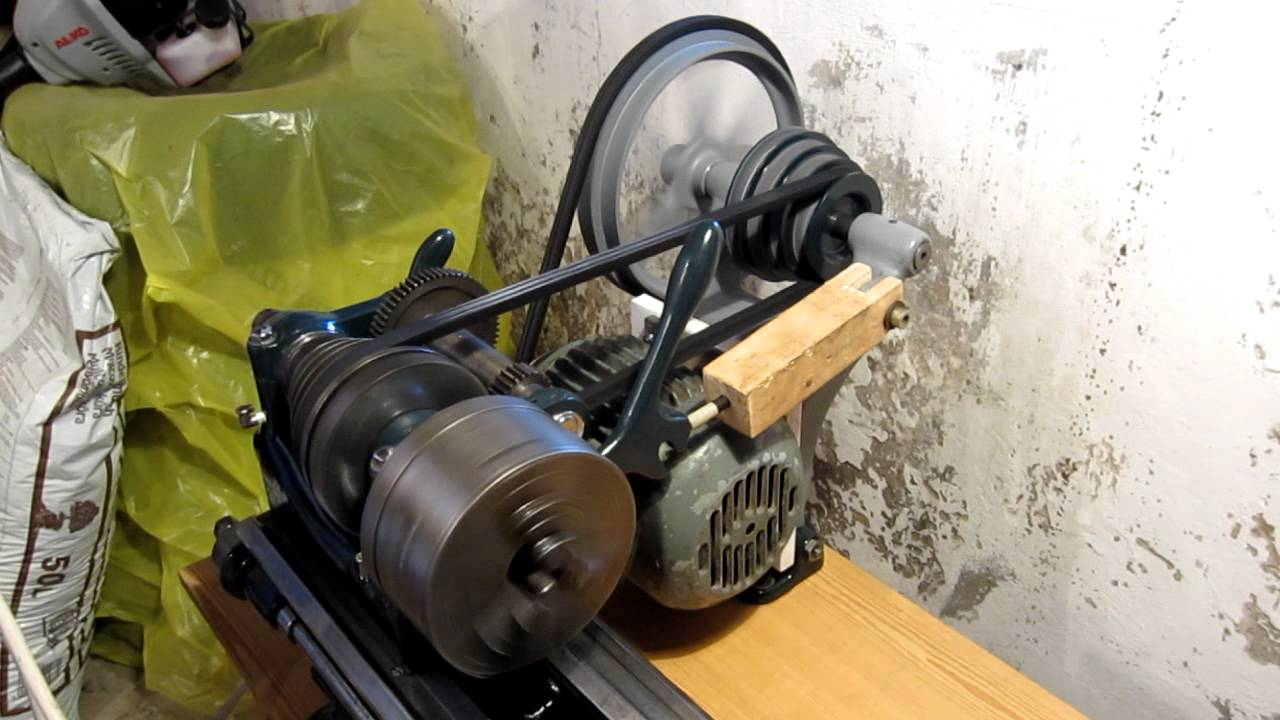 South Bend 9 U0026quot  Model C Lathe Headstock And Drive Test  2