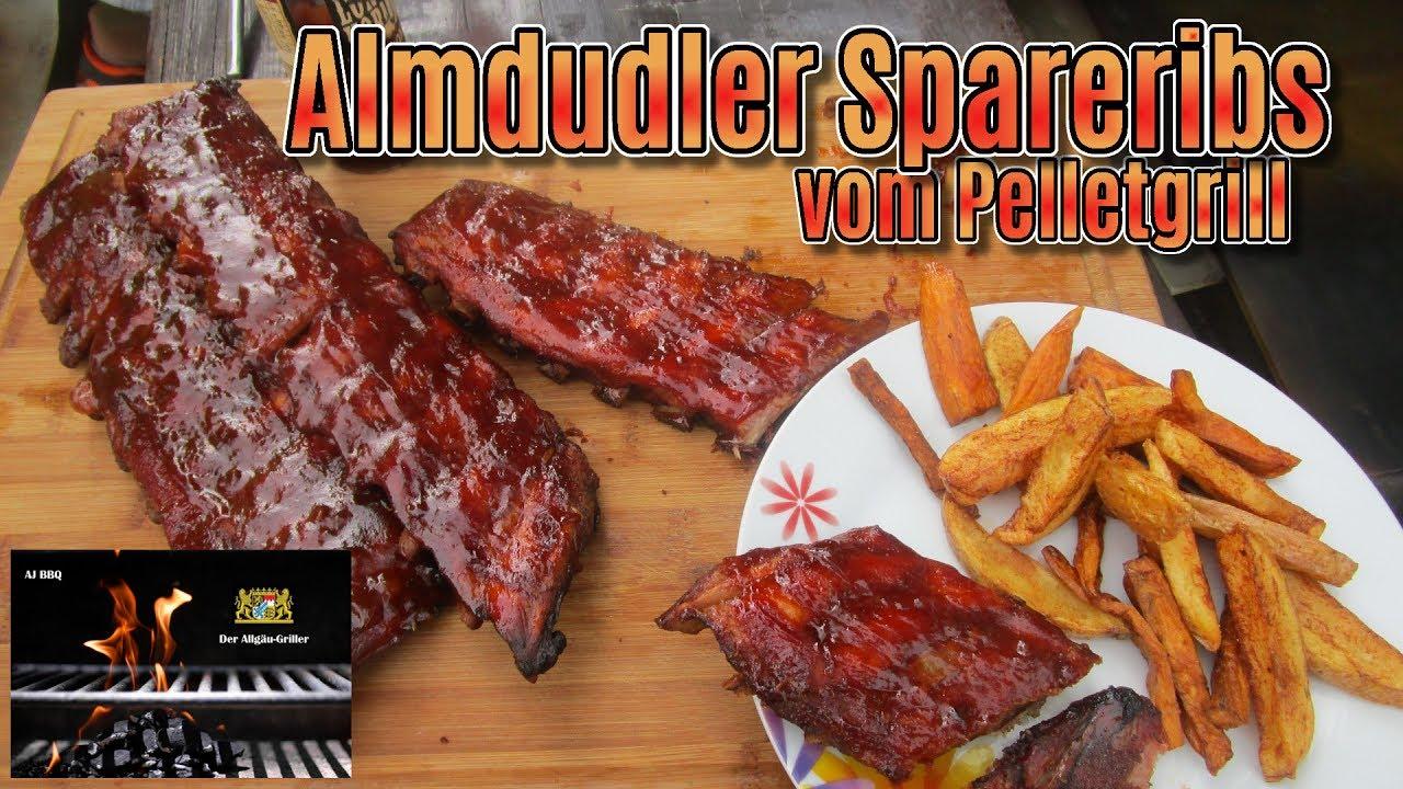Spareribs Gasgrill Forum : Almdudler spareribs youtube