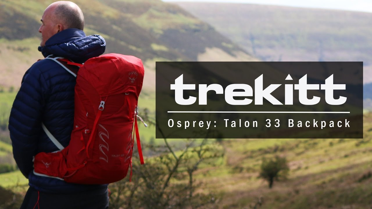 5ae74fe26f19 Inside Look  Osprey Talon 33 - YouTube