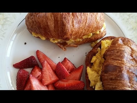 How to make an Egg & Cheese Croissants