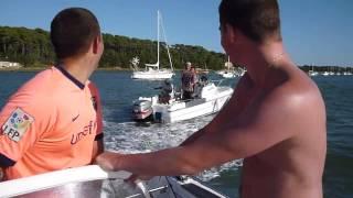 Jet moteur bateau