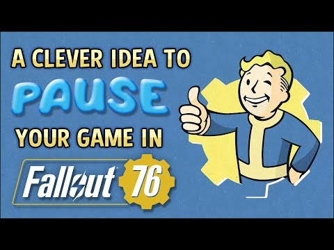 A Clever Idea to PAUSE Your Game ⏸️ FALLOUT 76