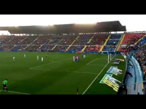 Gol de Duda (Levante vs Málaga) 30/12/2015