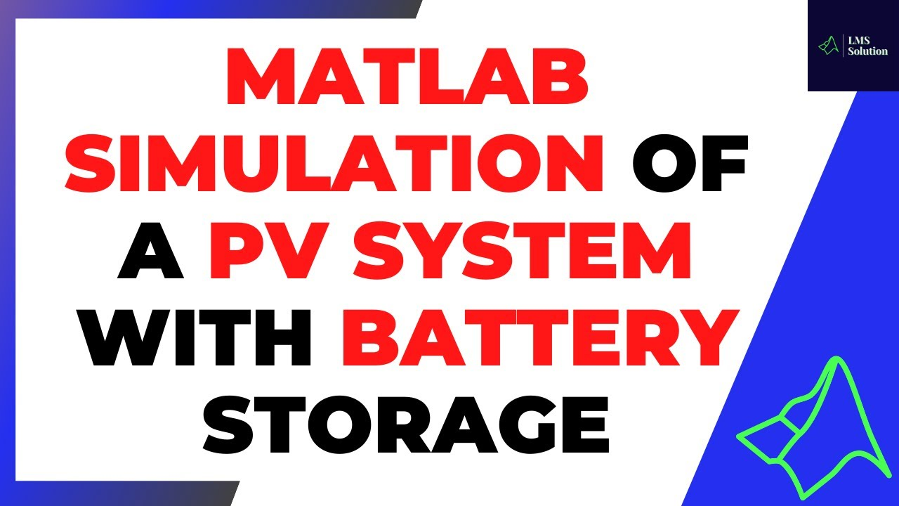 MATLAB Simulation Of A PV System With Battery Storage Using Bidirectional DC-DC Converter