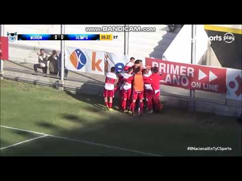 El polémico gol que le hizo Deportivo Morón a Olimpo