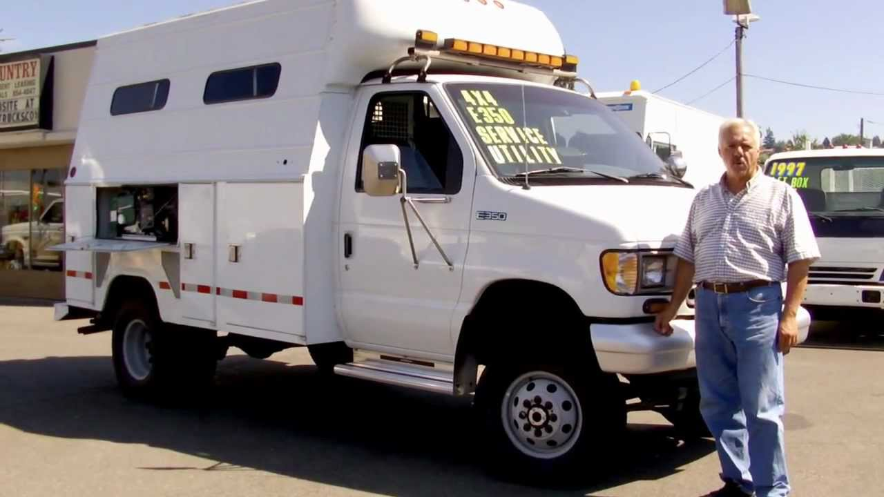dc0d0d3bae Town and Country Truck  5604  1996 Ford E350 XL One Ton Service Utility  Truck