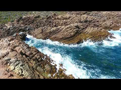 WESTERN AUSTRALIA - SOUTH WEST COAST -  CANAL ROCKS