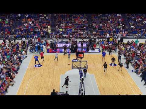 Rex Chapman, Rajon Rondo, and Michael Rapaport compete in four-point challenge at Rupp Arena
